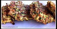 Clean Zucchini Fritters #FitFluential