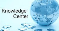 Knowledge center with quote