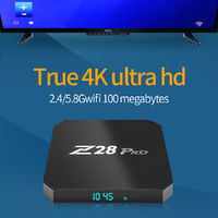 Z28 Pro RK3328 4GB RAM 32GB ROM Android 7.1 5G WIFI Bluetooth 4.1 4K TV Box