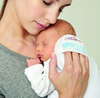 White noise one of the simplest ways to comfort a crying baby. The Gro Company puts white noise in the palm of your hand with the Gro-hush baby calmer.