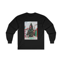 Christmas Tree with face, Unisex, Ultra Cotton, Long Sleeve T-Shirt, Christmas Sweater, Christmas Gift $25.00