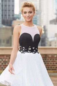 Cheap Cute Short White Tulle Vintage Dresses For Prom Party A-line Sale