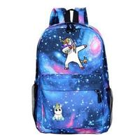 Unicorn Rucksack Students School Bags Beautiful New Pattern Backpack