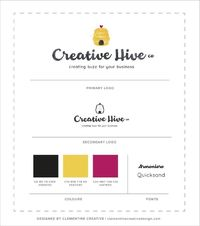 Logo Design for Creative Hive Co. | Designed by Clementine Creative