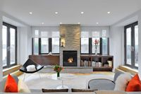 Tribeca Residence by Thierry Pfister Architecture & Design. Browse inspirational photos of modern living rooms.