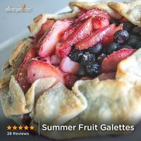 Summer Fruit Galettes | <3