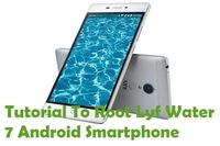 "In this tutorial, you can see how to ""Root Lyf Water 7 Android Smartphone Without PC""."