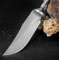 Blank blade DIY Tools hunting knife stainless steel utility knives camping outdoor $56.50