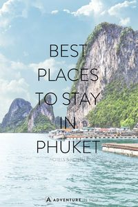 Phuket is Thailand's largest island which is frequented by many. Not surprisingly, where to stay in Phuket is a common question. From hotels near the beach