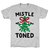 MistleTONED Athletic Gray Unisex Cotton Tee Shirt $23.99 �œ�Handcrafted in the USA! �œ�
