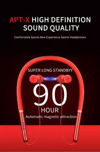 Q30 Wireless Headphones Bluetooth Noise Cancelling Earphone Sport Stereo Earbud Headset with Mic