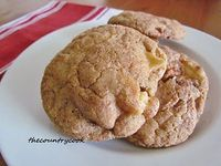 The Country Cook: Apple Cinnamon Snickerdoodles