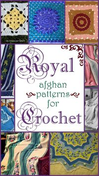 Attention Lords and Ladies: You are cordially invited to crochet the following royal afghan patterns. Under the express privilege of AllFreeCrochetAfghanPatterns, these crochet patterns are free to those loyal citizens of Stitch & Unwind. Crocheting i...