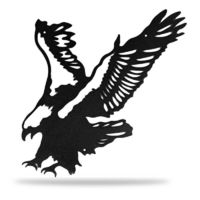 �œ� Handcrafted in USA! �œ� Support American Craftsmen. Little Eagle Metal Wall Decor $32.95