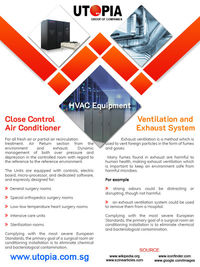 Hospital Hvac Equipments Manufacturer