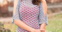 Lace tunic knitting pattern free