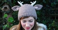Deer Knitting Pattern $