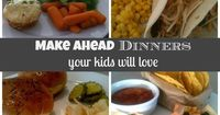 Need a few kid friendly dinner ideas? Check out these favorites that you can make ahead! Get a free sample menu!I can teach you the system that saves me 3-4 hou