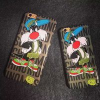 Moschino Sylvester Cat iPhone 6/6 Plus Case Coffee