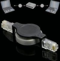 Portable Flexible 1.5m LAN RJ45 Network Cable - feelgift.com