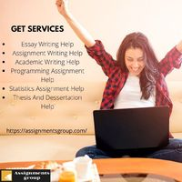 we provide quality assignment & academic essay writing help at cheap price with Assignments Group.