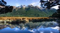 Beautiful Mountain Landscape 2014 HD wallpaper image