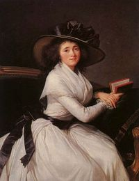 countesse de chatre by Elisabeth Vigee LeBrun