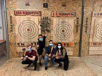 Come throw some Axes and pick up some free firewood after your reservation! @ Axe Whooping - Axe Throwing  https://www.facebook.com/axewhoop/