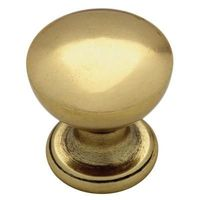 3.49 eachMartha Stewart Living 1 in. Bedford Brass Goblet Cabinet Knob-P20634C-474-CP - The Home Depot