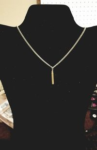 Silver and Gold Bar Necklaces $10.00