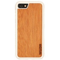 Slim Wooden iPhone Case White @The Lavender Lilac