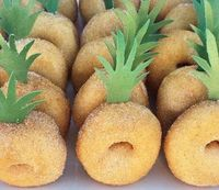 pineapple donuts- check Krispy Kreme too!