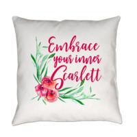 Embrace Your Inner Scarlett O'Hara Everyday Pillow