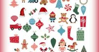 Christmas Printable I Spy Game! A cute free printable search and find game.