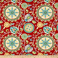 Screen printed on medium-weight (6 oz.) 100% polyester, this versatile fabric is perfect for your outdoor porch and indoor sun room. Its versatility is only matched by its durability. This fabric is both soil and stain resistant and water and ...