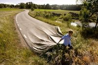 Erik Johansson is a 25-year-old photographer and retouch artist from Gothenburg, Sweden. His bizarre and amazing photo manipulations have the capacity to suspen