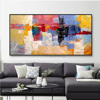 Abstract painting colorful paintings on canvas original art acrylic Painting large Wall Art home decor hand painted cuadros abstractos $89.00