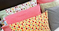 Super easy pillow case tutorial. Maybe be the easiest one I have ever seen!