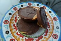 Almond, Coconut, Chocolate Popsicles and Homemade Peanut Butter Cups | Candid RD