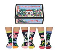 odd socks.jpgUP THE GARDEN PATH - United Oddsocks https://unitedoddsocks.com/product/up-the-garden-path-2/ Why is being led up the garden path considered a bad thing? We can't think of anything nicer! Well, now you can walk in the garden at any ti...