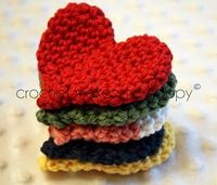 Crochet Makes Me Happy!: Crochet Pattern: The Heart