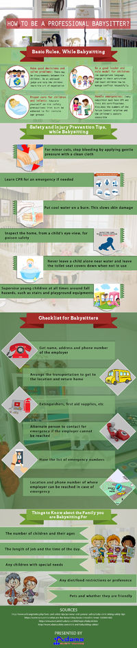 A Complete Guide on How to Become a Professional Babysitter
