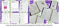 Hooker's Journal Check out a great wayto help keep your projects, patterns and ideas organized in 2015. Tired of trying to keep track of all thenotes, patterns and challenges in 2014, I came up with a journal to help keep it all together. Mikey ...