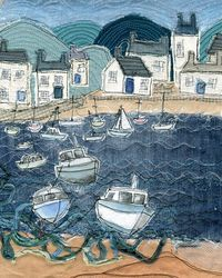 Harbour scene by Loopy Linnet