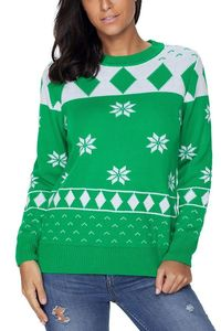 Pavacat Christmas Floral Loose Sweater $32.99