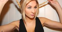 The gently twined loops of the ropy headband braid look pretty breath-taking and enhancing. The subtle headband braid creates the luscious hairstyle instant glamour. The sophisticated hairstyle works well on straight hair and wavy hair. The cute hairstyle...