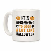 �œ� Handcrafted in USA! �œ� Support American Artisans It's Beginning To Look A Lot Like Halloween Ceramic Coffee Mug $14.99