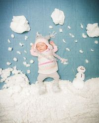 how cute. wish i had a little one to do this with!