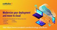 coMakeIT provides Cloud Computing Services, Cloud Solutions and Cloud SAAS Services. coMakeIT offers product engineering, application modernization and digital transformation services to ISVs and enterprises across The Netherlands, UK, USA. Visit https://...
