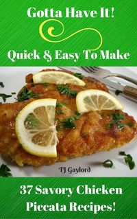 This delicious chicken dish is exquisite and easy to prepare, simply divine. Chicken Piccata sounds fancy but it's really a quick and easy chicken recipe. The chicken is seasoned, dredged in flour and sautéed then drizzled with an easy lemon sauce ...
